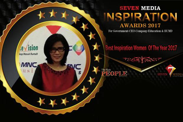 Indra Prastomiyono Raih Award Best Inspiration Women of The Year 2017