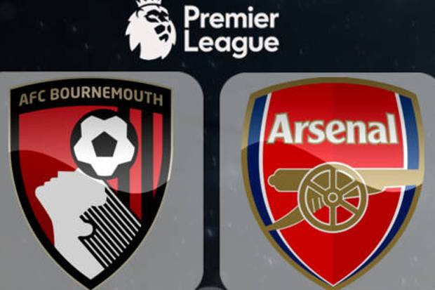 Susunan Pemain AFC Bournemouth vs Arsenal