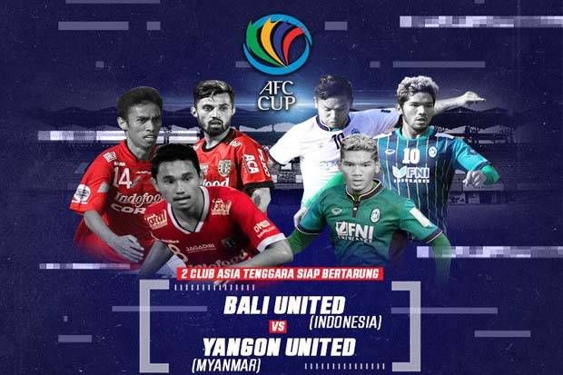 Preview Bali United vs Yangon United: Awal Berat Tim Serdadu Tridatu