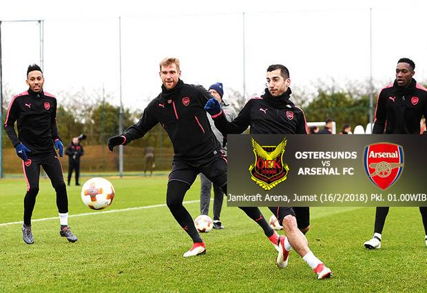 Preview Ostersunds vs Arsenal: Wajah Baru Meriam London