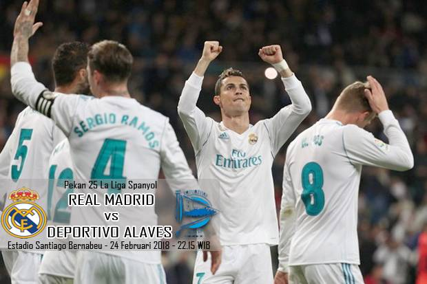 Preview Real Madrid vs Deportivo Alaves: Dihantui Kelelahan
