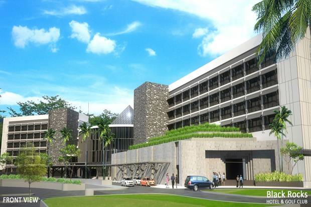 Gandeng Projek, Belitung Golf and Resorts Pasarkan Black Rocks Golf Belitung