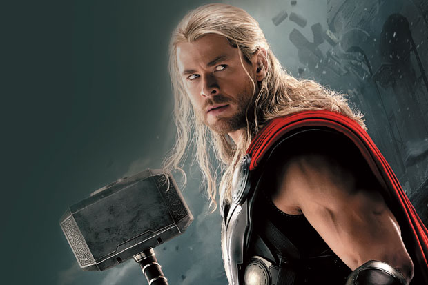 Film Marvel Tambang Emas bagi Chris Hemsworth