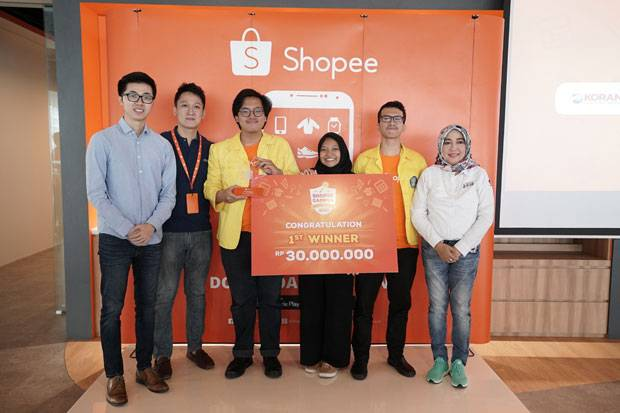 Shopee Umumkan Pemenang Shopee Campus Competition 2018