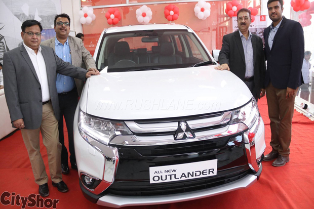 All New Mitsubishi Outlander 4WD Masuk Pasar India