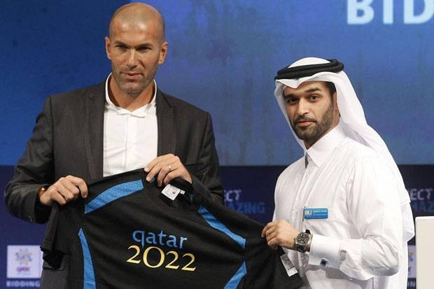 Image result for Zinedine Zidane qatar