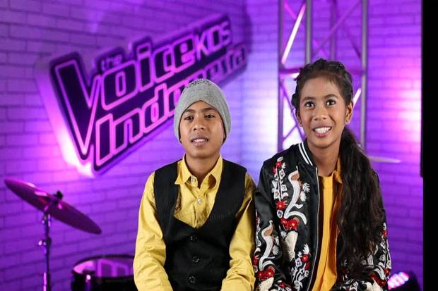 Duo Kembar Asal Kupang Sihir Para Coach The Voice Kids Indonesia