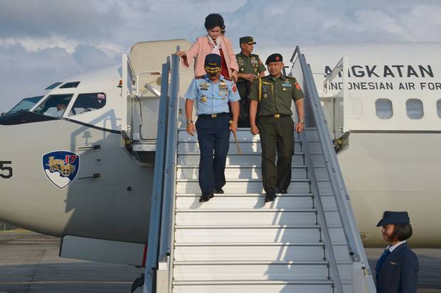 Panglima TNI Tiba di Rimba Air Force Base Brunei