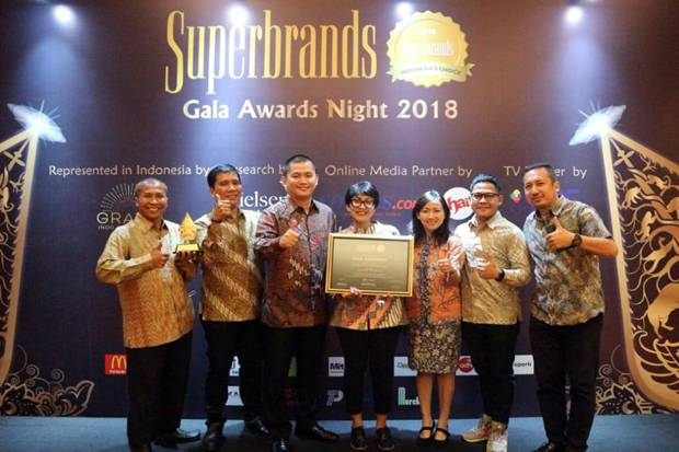 MNC Channel Raih Superbrands Indonesia 2018