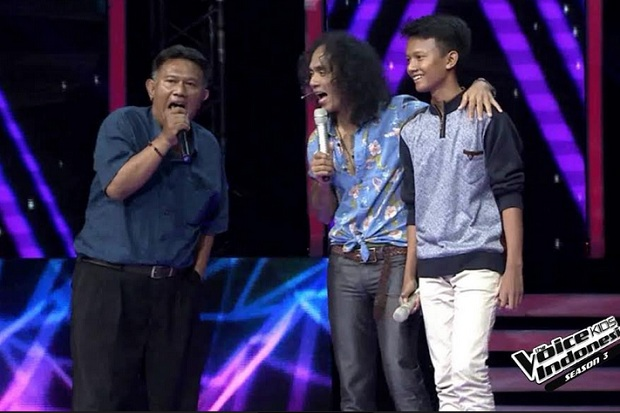 3 Peserta The Voice Kids Indonesia Pilih Coach Kaka Slank