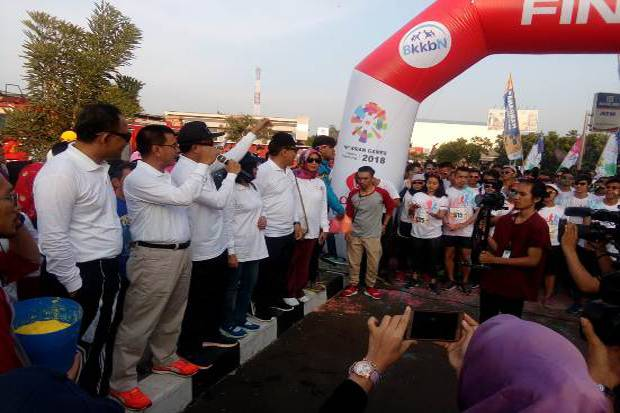 Rayakan Hari Remaja Internasional, BKKBN Gelar The Colour Run