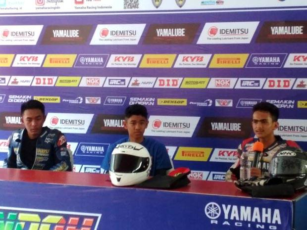 Ridwan Tercepat di Kelas All New R15 Junior Pro