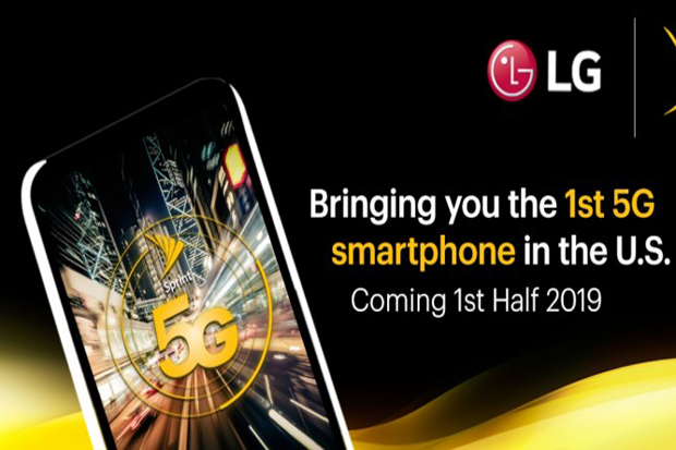 Comprehensive sprint operator, LG ready to bring 5G phones …