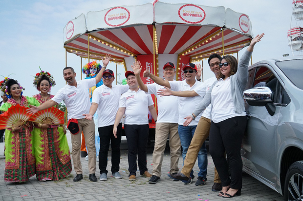 XPANDER Tons of Real Happiness Roadshow ke Makassar