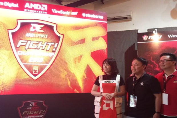 AMD eSports FIGHT! Championship 2018, Ajang Gamers Genre Fighting Berlaga