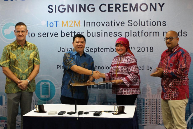 Indosat Ooredoo Business-BINI Jalin Kerja Sama IoT Solution