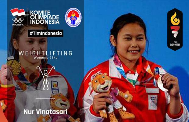 Lifter Indonesia Raih Medali di Olympic Youth Games 2018