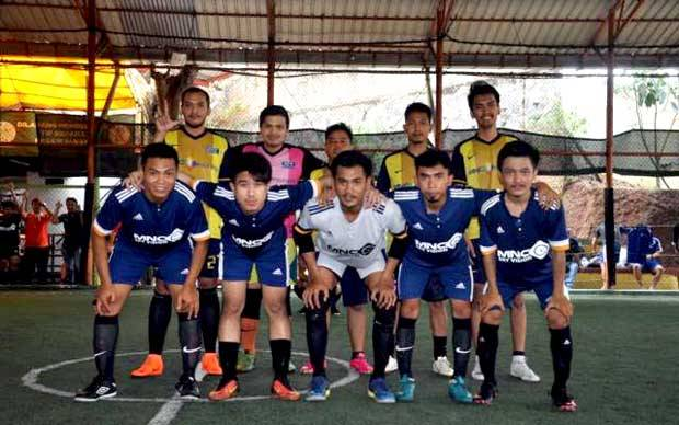 MNC Bank Kampiun Turnamen Futsal MNC Group 2018