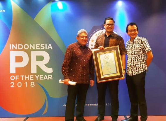 Sinar Mas Land Raih Corporate Communication Team of The Year 2018