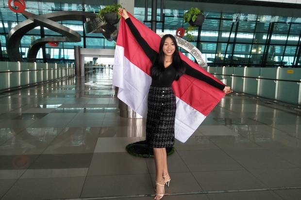 Kedatangan Alya Nurshabrina Dinanti Kontestan Miss World Lainnya