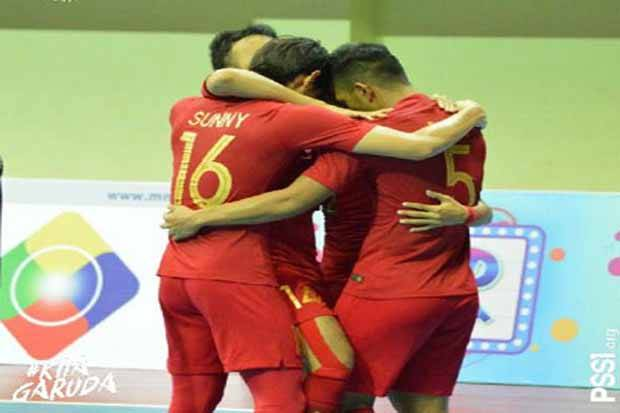Timnas Futsal Indonesia Bidik Tiket Final