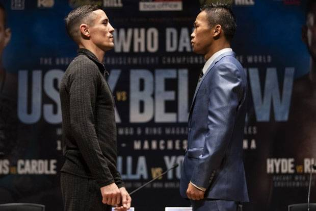 Anthony Crolla vs Daud Yordan: Tale of The Tape