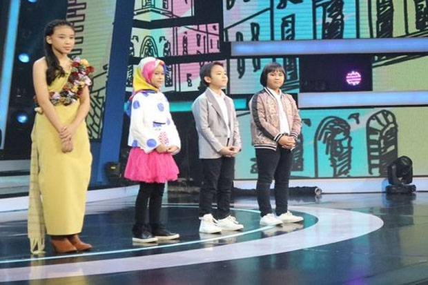 Nashwa Keluar, Indonesian Idol Junior Masuk Road to Grand Final