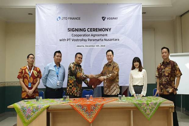 JTO Finance Gandeng Vospay Luncurkan Kartu Kredit Digital