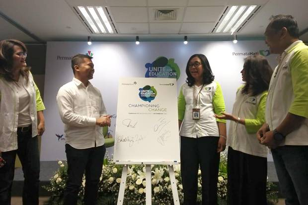 Peduli Pendidikan, Permata Bank Adakan Forum Unite for Education