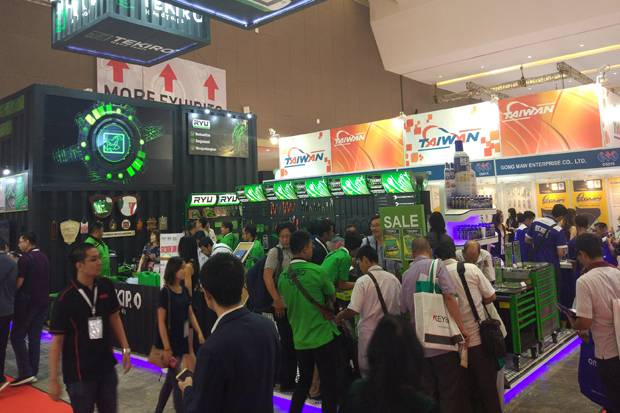 Tekiro Tools Ramaikan Indonesia Manufacturing Expo 2018