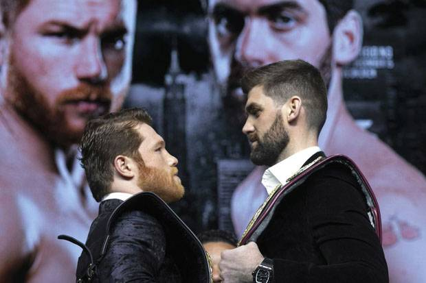 Canelo Alvarez vs Rocky Fielding: Tale of the Tape