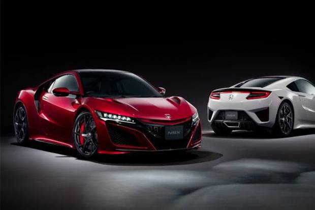 All New Honda Insight dan New Honda NSX di Tokyo Auto Salon