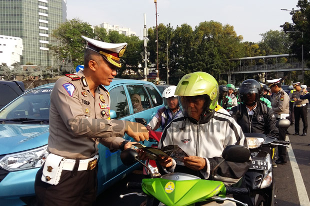 Polda Metro Jaya Soft Launching Millennial Road Safety Festival