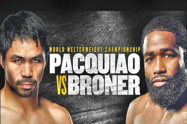 Manny Pacquiao vs Adrien Broner: Tale of The Tape