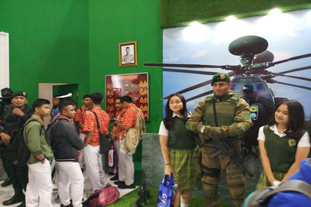 TNI AD Ikut Ramaikan Acara Education dan Training Expo 2019