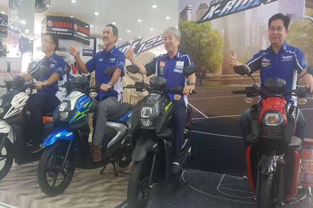 Karakter Petualang Menempel di All New X-ride 125
