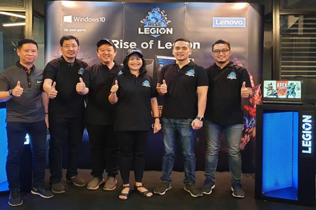 Lenovo Rise of Legion Medan Tempur Gamers Berbasis PUBG PC
