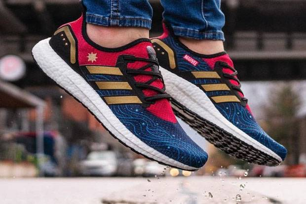 differently nice shoes wholesale Marvel dan Adidas Luncurkan Sneaker Baru Captain Marvel
