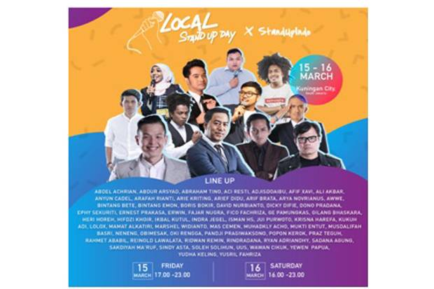 Festival Stand Up Local Stand Up Day Siap Digelar Kembali
