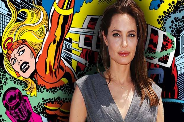 Angelina Jolie Bakal Jadi Superhero Marvel di The Eternals?