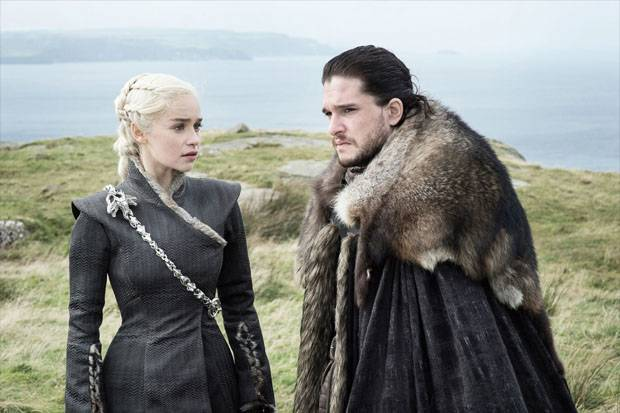 Hubungan Daenerys dan Jon Snow Jadi Epik di Game of Thrones 8