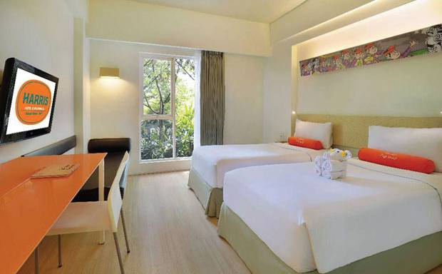 Harris Hotel & Residences Sunset Road Jadi Hotel Terbaik