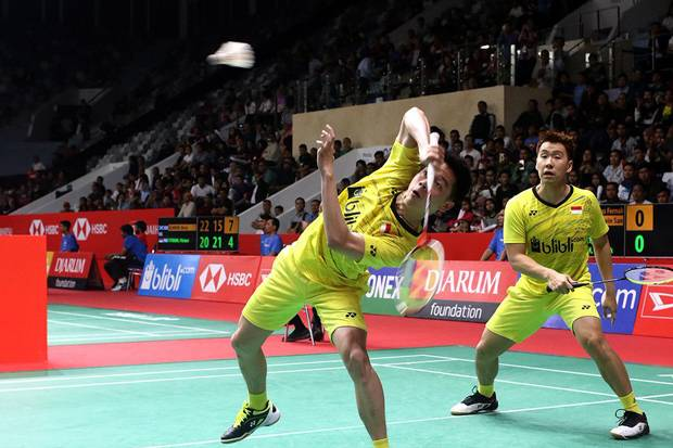 Marcus/Kevin Gagal Ciptakan All Indonesia Final