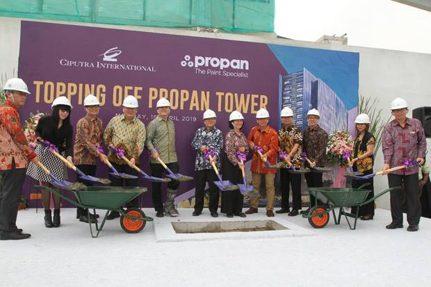 Propan Raya Gandeng Ciputra Group Bangun Tower di Central Bisnis