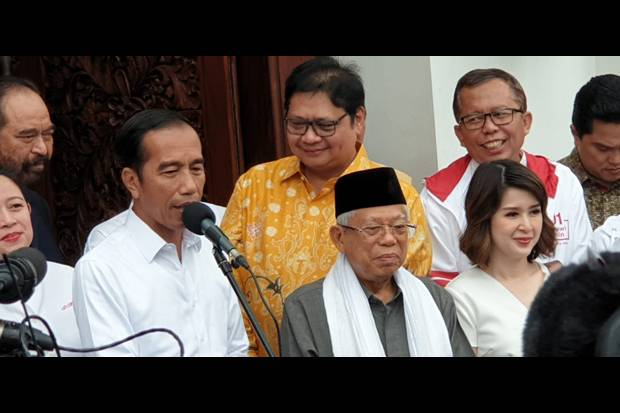 Jokowi: Akurasi Quick Count 99%, Hampir Sama Real Count