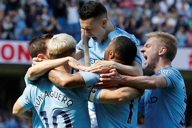 Babak I Man City vs Tottenham: Foden Bawa The Citizens Unggul