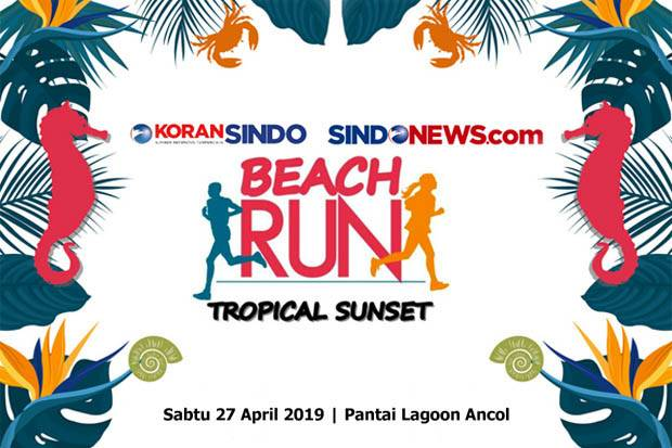 Ayo Seru-seruan di Beach Run 2019
