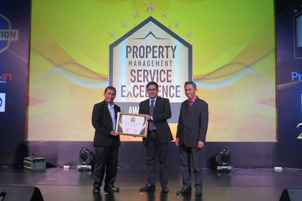 Paramount Land Raih Penghargaan Property Management Service Excellence