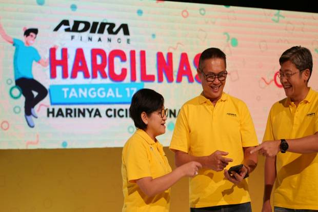 Ratusan Pelanggan Adira Finance Raih Program Harcilnas