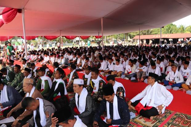 Ketua DPRD dan GP Ansor Ciamis Serukan Tolak People Power